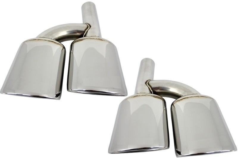 Tobe Ornamente pentru sistemul de evacuare Mercedes AMG C63 Design W204 W211 W203 R171 W219 W221 W463 - TY-E176L