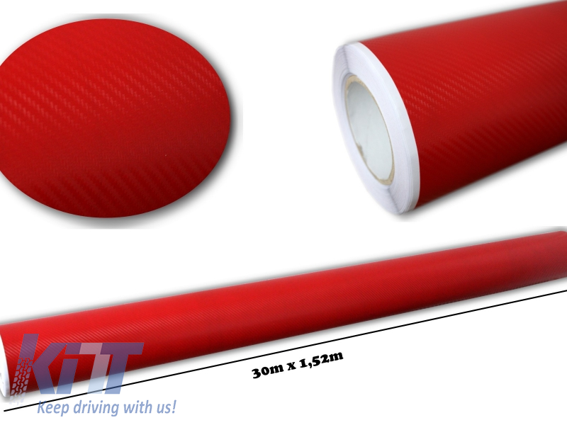 Folie auto carbon 3d texturata - colant auto 1,52 / (30m)
