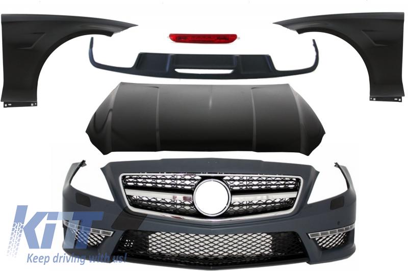Pachet Exterior Complet Mercedes W218 CLS (2011-up) CLS63 AMG Design  - CBMBW218AMG