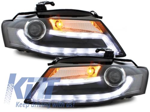 FARURI LED AUDI A4 B8 8K 2008-2011 Facelift Light Bar Design Lumina De Zi LED DRL