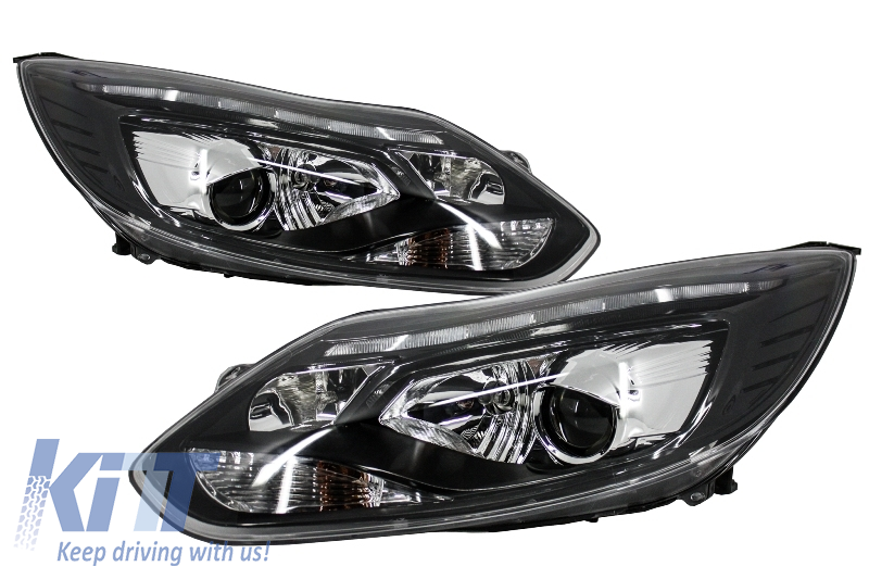 Faruri LED DRL Ford Focus III (2011-up) - HLFFIII