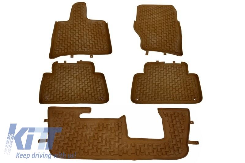 Presuri Interior Covorase interior Audi Q7 4L (2006-2015) Maro
