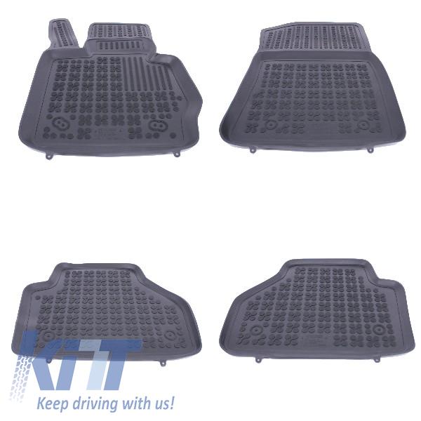 Covorase Presuri Auto Negru din Cauciuc BMW X3 (F25) II 2010-, X4 (F26) 2014-