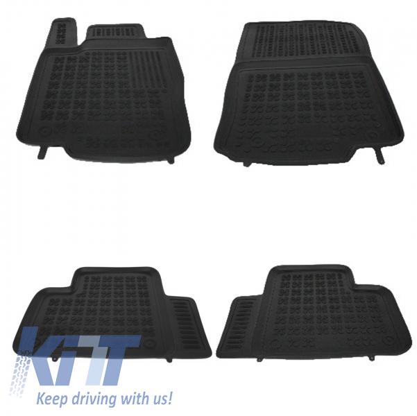 Covorase Presuri Auto Negru din Cauciuc MERCEDES W166 M-Class 2011-;GLE 2015-;GLE Coupe 2015- - 201714