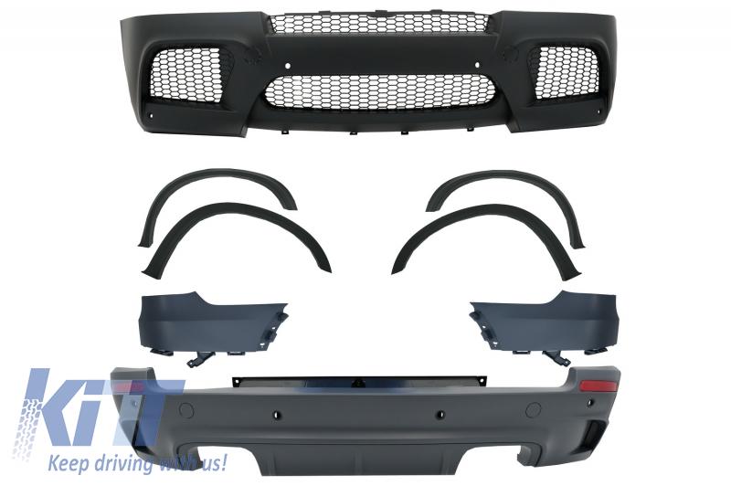 Pachet Exterior Complet BMW X5 E70 2007-2014 M-Design