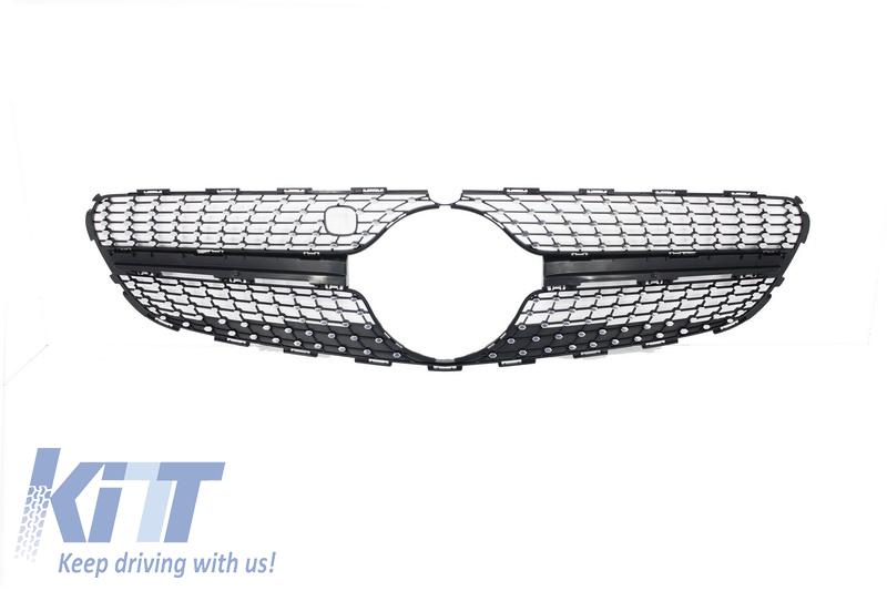 Ornament Grila Centrala Mercedes Benz C217 Coupe S-Class (2014-up) Optic AMG Design - A2178880523