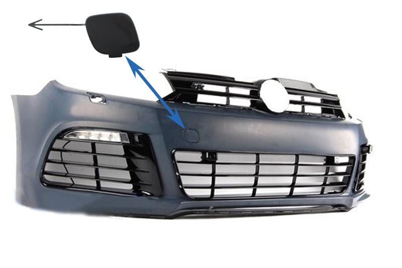 Capac Tractare Bara Fata Volkswagen Golf VI Golf 6 (2008-2013) R20 Look