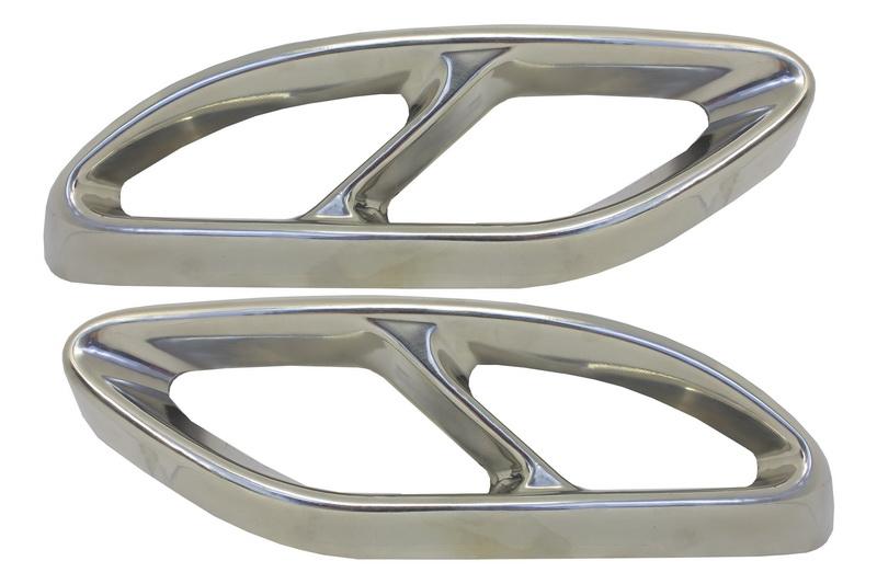 Ornamente tobe pentru sistemul de evacuare Mercedes Benz C-Class W205 C-Class S65 E65 GLE W166 X166 GLC W253 AMG Design - MTMBAMG