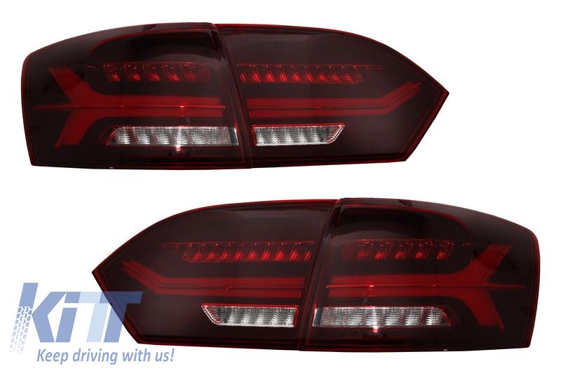 Stopuri LED Volkswagen Jetta Mk6 VI 6 (2012-Up) Semnal Secvential Dinamic