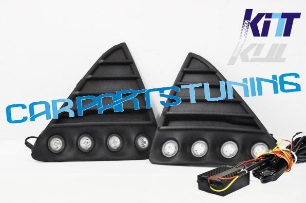 Lumini de zi dedicate- DRL cu Grila Ford Focus MK3 2011~12