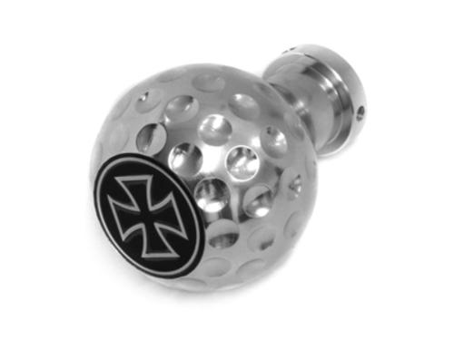 gear knob Iron Cross ball look_universal