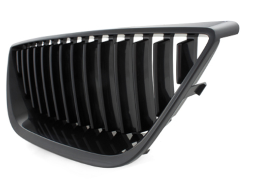 Dectane grill Seat Ibiza 6J without Emblem 08-13 black