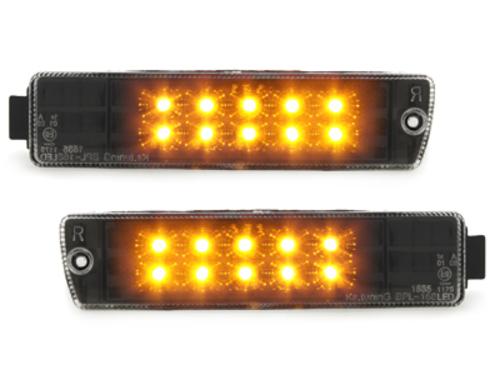 LED semnal VW Golf II GL / Jetta  negru - KGV02LB