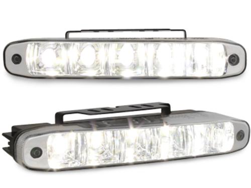 lumini de zi TFL cu 5 hipower LED LxHxT 160x24x54mm (2 buc)