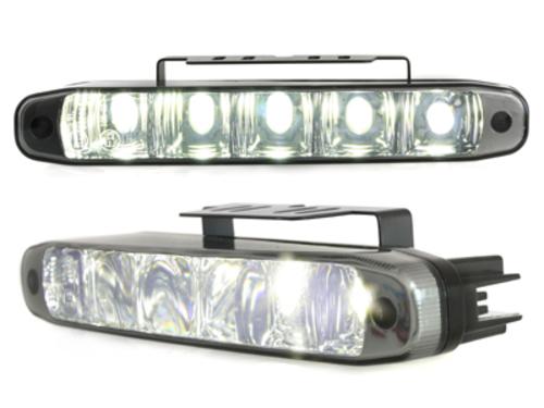 lumini de zi TFL cu 5 hipower LED LxHxT 160x24x54mm negru