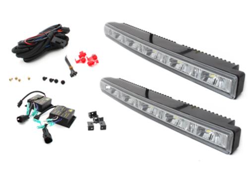 daytime running lamps 5 HIPOWER LED 280x25x48mm_chrome
