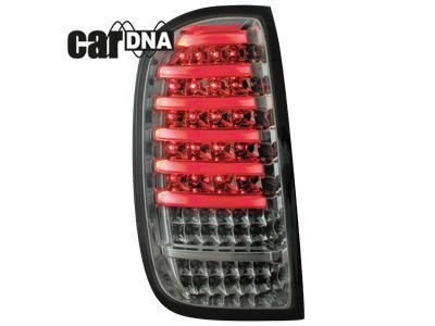 Stopuri LED CarDNA Dacia Duster Crom/Fumuriu - RD02LCS