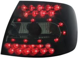 Stopuri LED Audi A4 B5 Sedan 95-01 negru / fumuriu