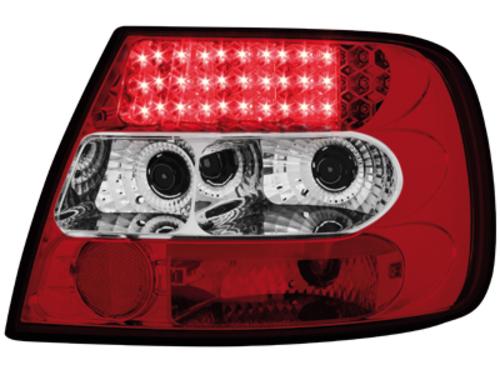 Stopuri LED Audi A4 B5 Lim. 95-10.00  rosu/cristal