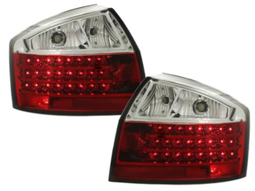 Stopuri LED Audi A4 8E Lim. 01-04 rosu / clar-