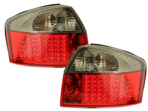 Stopuri LED Audi A4 8E Lim. 01-04  rosu/fumuriu