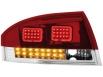 LED taillights Audi TT (8N3 / 8N9) 98-05 red crystal