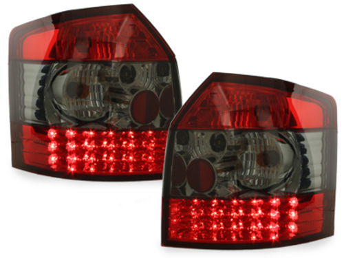 Stopuri LED Audi A4 B6 8E Avant 01-04  rosu/fumuriu