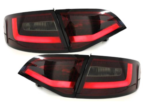 Stopuri LED Audi A4 Avant B8 08-11 rosu fumuriu