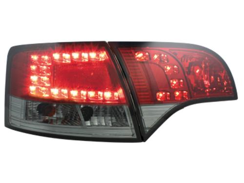 Stopuri LED Audi A4 Avant B7 04-08rosu/fumuriu