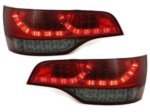 Stopuri LED Audi Q7 05-09  rosu/fumuriu