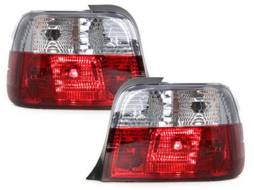 Stopuri BMW E36 Compact 92-98  rosu/cristal