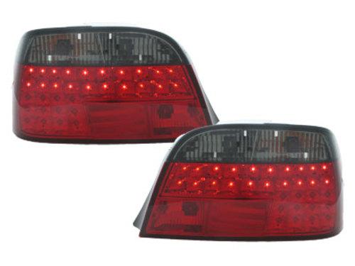 Stopuri LED BMW E38 95-02  rosu/fumuriu