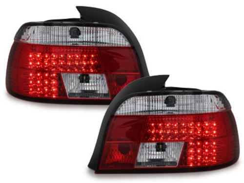 Stopuri LED BMW E39 95-03  rosu/cristal - RB19LRC/1223195