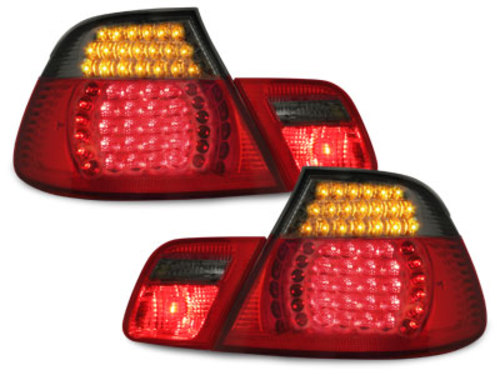 LED taillights BMW E46 Coup� 98-03_red/smoke 4 pieces