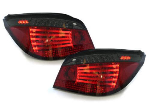 Stopuri LED BMW E60 04.03-03.07  rosu/fumuriu