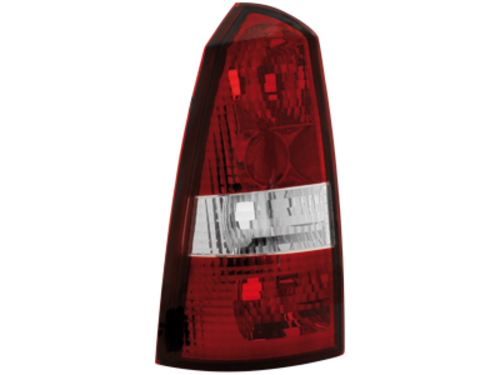 taillights Ford Focus Turnier 99-05 _ red/crystal
