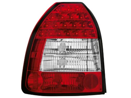 Stopuri LED Honda Civic 3T 96-00  rosu/cristal