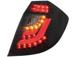 Stopuri LED Honda Jazz / Fit 08 + negru / fumuriu-