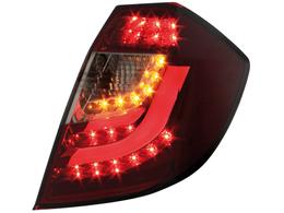 Stopuri LED Honda Jazz / Fit 08 + rosu / fumuriu-