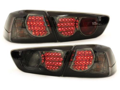 Stopuri LED Mitsubishi Lancer 08 + / negru / fum