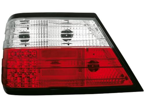 Stopuri LED Mercedes Benz W124 E-Kl. 84-93 rosu/cristal