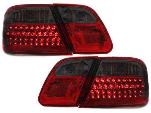 Stopuri LED Mercedes Benz W210 E-Kl. 95-02  rosu/fumuriu
