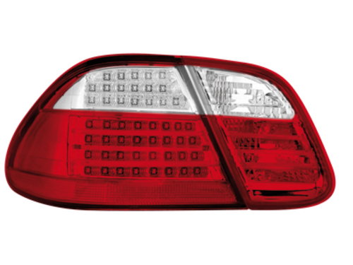 Stopuri LED Mercedes Benz CLK W208 06.97-02_rosu cristal