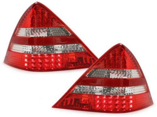 Stopuri LED Mercedes Benz SLK R170 96-04rosu/cristal