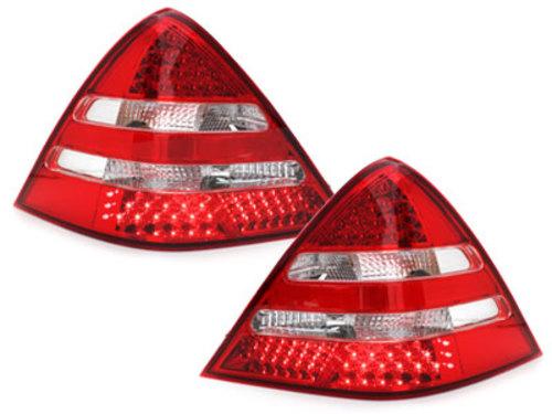 Stopuri LED Mercedes Benz SLK R170 00-04rosu/cristal