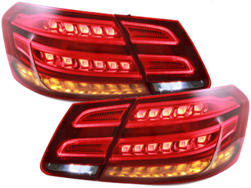 **Dectane LED taillights Mercedes Benz E-Class W212_13+_red/smoke