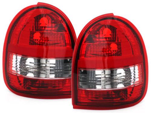 Stopuri Opel Corsa B 03.93-03.01  rosu/cristal