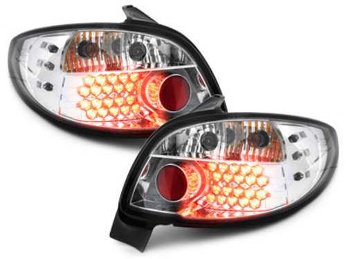 Stopuri LED Peugeot 206 98-09 crystal