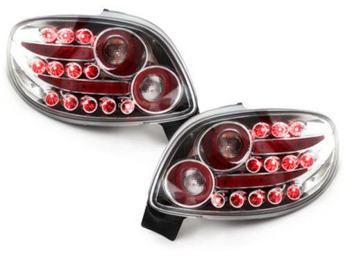 Stopuri LED Peugeot 206cc 98-09 crystal