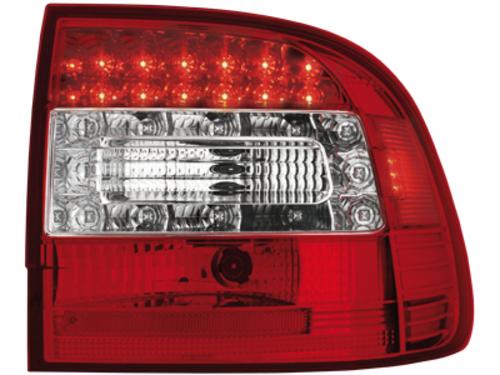 Stopuri LED Porsche Cayenne 03-07rosu/cristal